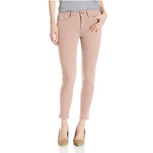 Garment Dyed Ankle Skinny Pant